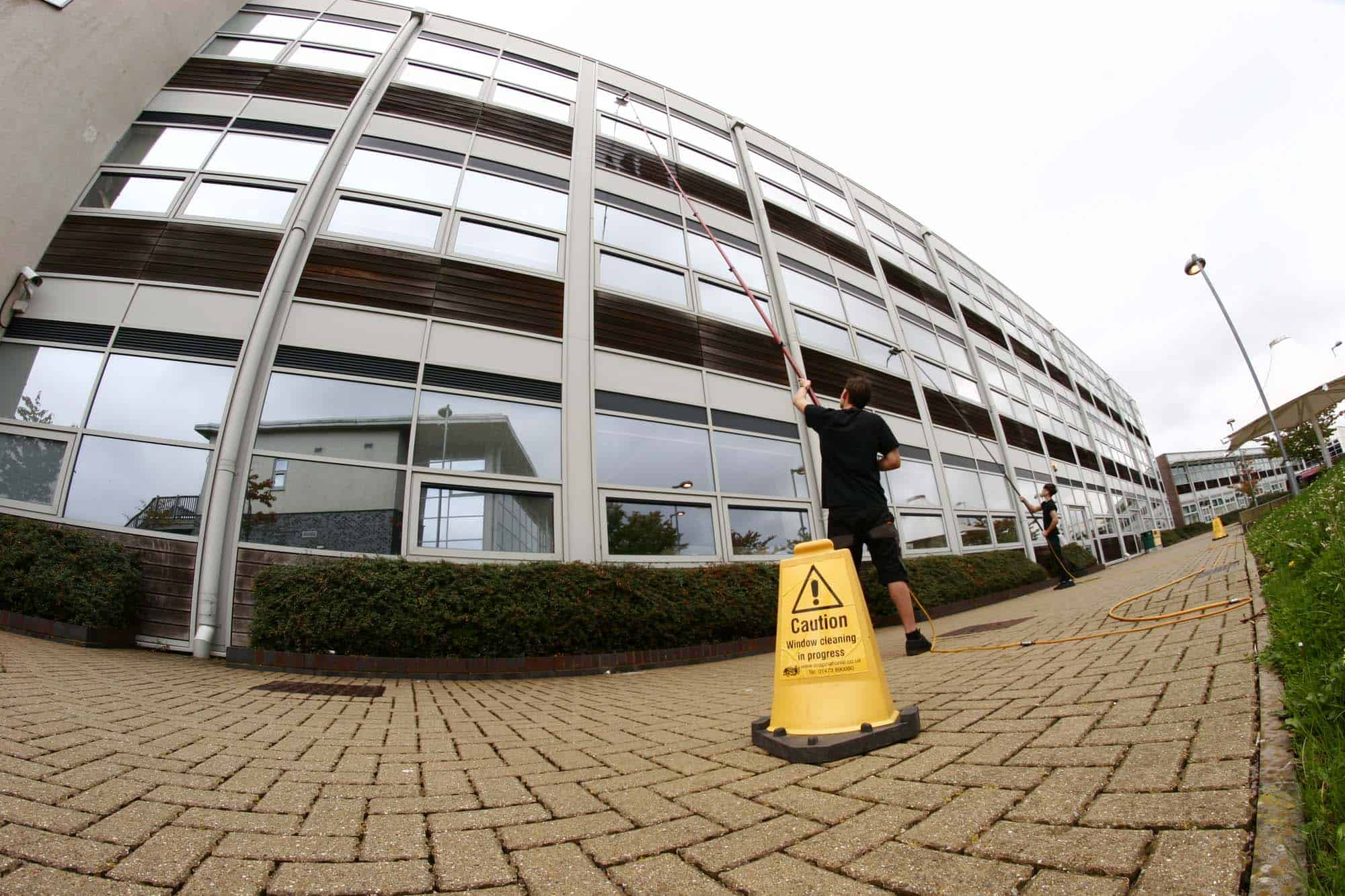 commercial window cleaners camberley